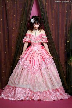 A gorgeous dress