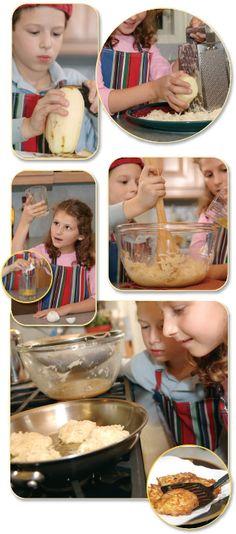 Potato Latkes - Chanukah Guide - Jewish Kids