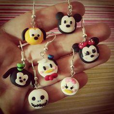 Pendientes Disney Tsum Tsum Earrings Disney