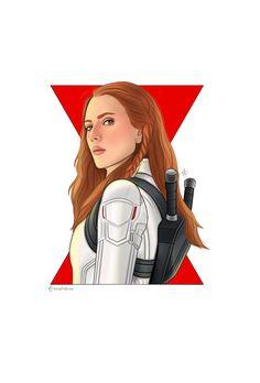 Black Widow Avengers, Avengers Fan Art, Marvel Fan Art, Marvel Avengers, Marvel Heroines, Marvel Characters, Marvel Movies, Luke Cage, Marvel Canvas