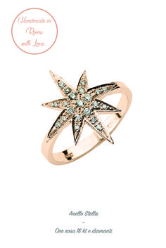 #lunatica #lunaticacool #lunaticagioielli #cool #gioielli #star #starburst #trendy #fresh #fashion #style #mood #handmade #madeinitaly #italy #roma #rome #made #with #love #pink #pinky #rose #pinkgold #precious #18kt #gold #diamonds #wantit #young #girls #glamour #ring