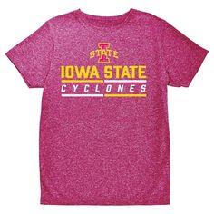 NCAA Boys' Hail Mary Bi-Blend Crew Neck T-Shirt Iowa State Cyclones - XS, Multicolored