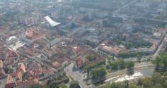 Győr fentről nézve!   :) ,,...térkép e táj..''