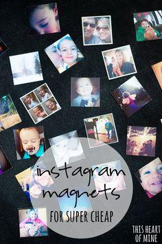 Instagram Magnets for Super Cheap