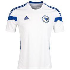 Bosnia-Hertzegovina 2014/2015 Away Shirt (White). Available from Kitbag.com
