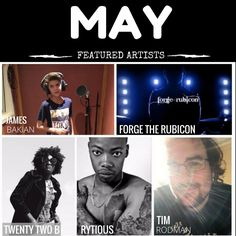 May 2017 Featured Artists on Music Talks