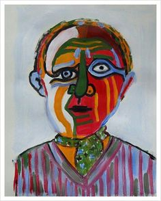 Like Piccaso #1. 2013. 36 x 47cm. Acryl on Paper.