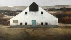 High Desert Composition I by Joseph Alleman - Mockingbird Gallery Landscape Paintings, Barn Paintings, Landscapes, American Realism, Western Art, Joseph, Harvest, Sculpture, Gallery