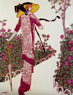 Vintage Fashion Illustration    J. Gose, 1913