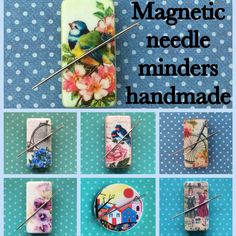 Hi everyone, I make magnetic needle minders. I have plenty of designs & sizes over in my shop. Prices range from £3.50 to £4.00   Will post worldwide  #needleminder #needleminders  #sewing #stitch #stitching #crossstitching  #crossstitch #magnet #embroidery #needlemagnet #sewingmagnet