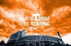 Even our clouds glow UT Orange. GBO!! VFL!!