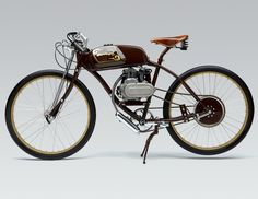 derringer - bespoke collection  A modern interpretation of the board tracking racing motorcycles of the 1920s