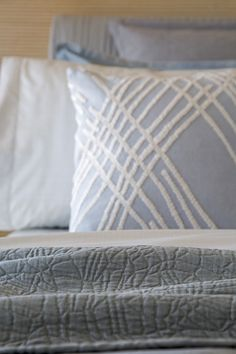 "From the 'Zuma' bedding set, part of the Kelly Wearstler Luxe Bedding Collection. Featuring: Ardent Matelasse Coverlet (King/Queen/Full), Zuma Flat Sheet (King/Queen/Full), Archetype Square Decorative Pillow (16"" x 16""), Zuma Pillowcase (King/Queen), Zuma Sham (King/Queen), Zuma Euro Sham (26"" x 26""). Exclusive to @bloomingdales"