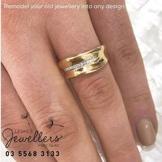 Make it from old or buy it new 👀 available in white, rose, yellow. design it yourself 👀💕 - Shop our jewellery store in Port Fairy - Victoria, Australia. Gold Jewelry, Jewellery, Victoria Australia, Jewelry Stores, Gold Rings, Fairy, Wedding Rings, Jewels, Photo And Video