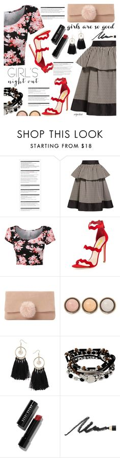 """""""GIRLS NightOut #1"""" by wynsha ❤ liked on Polyvore featuring Arche, Isa Arfen, Dune, By Terry, Miss Selfridge, Kenneth Cole, Bobbi Brown Cosmetics and Benefit"""