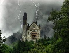 Image result for scary german castle