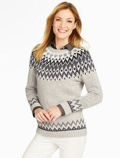 Talbots - Tinsel Fair Isle Sweater | New Arrivals |