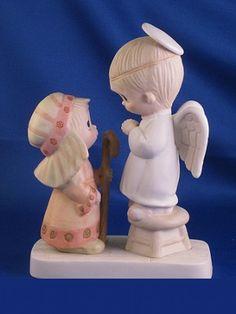 Jesus Is Born - Precious Moment Figurine- Suspended 1984  One of the Original 21