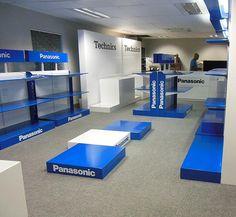 Panasonic Showroom - New units for Panasonic's showroom in Midrand South Africa.