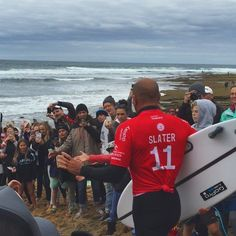 Seeing this legend  priceless  #surfing #kellyslater #bellsbeach #ripcurlpro #beach #victoria #greatoceanroad #torquay @kellyslater by rustyorangutan http://ift.tt/1KnoFsa