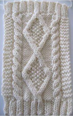 Dog sweater knitting pattern PDF Aran Diamond Back by KnittyDebby