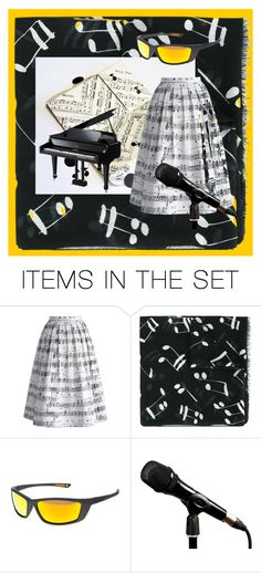 """""""The Color of Music"""" by thesandlappershop ❤ liked on Polyvore featuring art"""