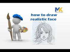 how to draw realistic face By request: how to draw with pencil, not paint! This tutorial is perfect for absolute beginners. , . You've got to learn how to draw before you can paint (at least that's been my experience), so hopefully this will give you some confidence. Please let me know if you'd like to see more drawing tutorials