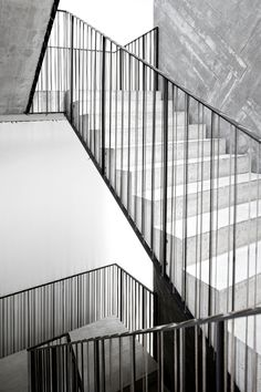 Garde-corps, dessin simple, mais subtile.... Casa do Conto, de FG+SG Fotografia de Arquitectura