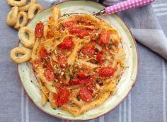 Denny Chef Blog: Sagne 'ncannulate con pesto rosso e tarallini