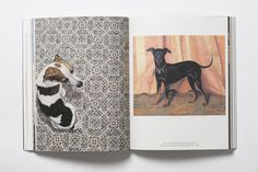 'The Book of the Dog' by Angus Hyland: http://www.laurenceking.com/en/the-book-of-the-dog-dogs-in-art/