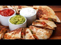 Make These Easy Chicken Fajita Quesadillas At Home