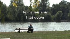 A very melancholy song which features quite a lot of repetitive lyrics which are useful stock phrases Learning French, French Language Learning, Learn Languages, French Songs, French Education, Film, Music Videos, Audio, Gardens