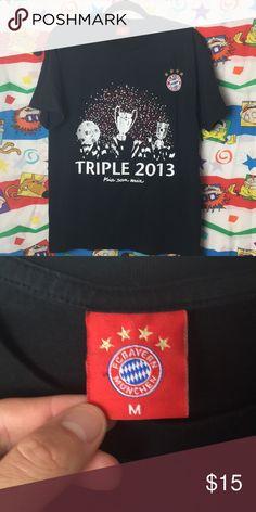 e53ce12ecfc Official Bayern Munich Treble Winning Tee Official Bayern Munich Treble  Winning Tee Good condition