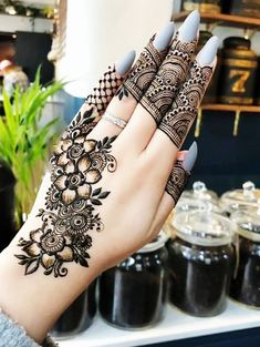 collection designs brides simple mehndi design latest 2019 here best for 30 of is a 30 Latest Mehndi Design 2019 for Brides Here is a best collection of simple mehndi designs 2019 forYou can find Simple mehndi designs and more on our website Wedding Henna Designs, Floral Henna Designs, Finger Henna Designs, Henna Art Designs, Mehndi Designs For Girls, Mehndi Designs 2018, Modern Mehndi Designs, Mehndi Designs For Fingers, Mehndi Design Pictures
