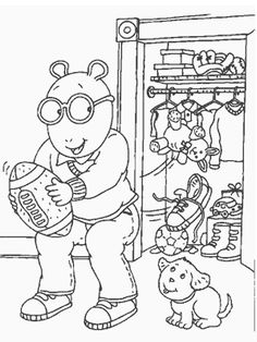 Find The Winter Coloring Page Is A From BookLet Your Children Express Their Imagination When They