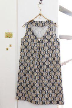 Tunic Dress Free Sewing Pattern