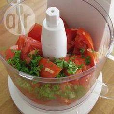 Coulis de tomates crues @ allrecipes.fr