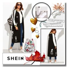 """SheIn 10/4"" by dilruha ❤ liked on Polyvore featuring Too Faced Cosmetics"