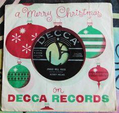 ROCKABILLY X-MAS.....BOBBY HELMS.....JINGLE BELL ROCK...1957...NICE...CAN HEAR #EasyListeningCowboyCountryEarlyCountryNashvilleSoundPopROCKABILLYCLASSICROCKHOLIDAY