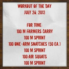 Katidid it...: Workout of the Day! This #crossfit #wod is NO JOKE!