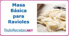 Con esta receta podemos aprender a hacer la masa de los ravioles de forma casera, y muy sencilla. Una tradición que sigue vigente, muy valorada!
