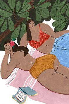 Isabelle Feliu — I LOVE ILLUSTRATION