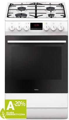 Kuchenka elektryczno - gazowa Amica wyposażona została w programator elektryczny. Więcej na https://www.maxelektro.pl/agd/kuchnie/kuchnia-amica-510ge3-33zptaf-w-36.html