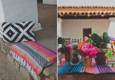 Mexican themed California wedding| photo by Wild Whim Design | 100 Layer Cake