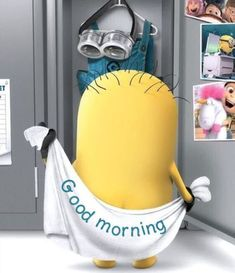 Looking for for images for good morning motivation?Browse around this site for unique good morning motivation inspiration. These funny images will brighten your day. Good Morning Minions, Good Morning Quotes For Him, Good Morning Texts, Good Morning Love, Morning Humor, Funny Morning Quotes, Funny Quotes, Goog Morning, Morning Coffee