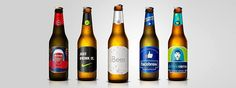 Marcas viram rótulos de cervejas