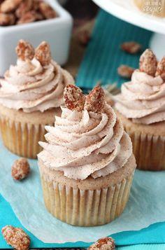 Cinnamon Sugar Almond Cupcakes