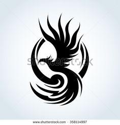 Phoenix logo,Eagle logo,Vector logo template.