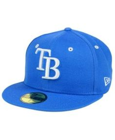 New Era Tampa Bay Rays Pantone Collection 59FIFTY Cap - Blue 7 3 4 Stylish aa7a7b1ae6b