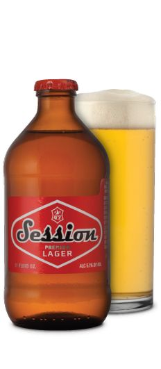Session Premium lager is an extremely tasty import-style lager, like ...